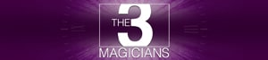 The 3 Magicians like singing waiters but with magic logo for page link