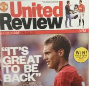 The Manchester United Review Nemanja Vidic